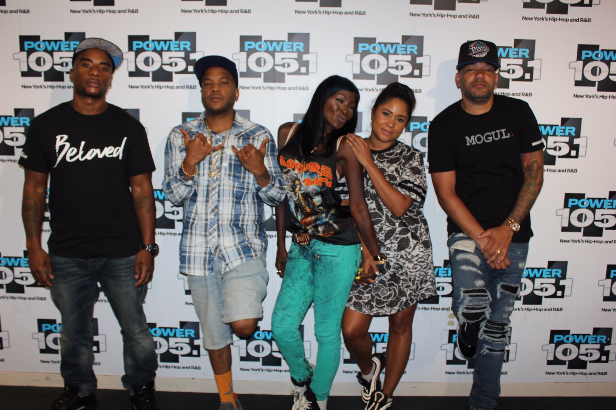 Styles P And Adjua Styles on the breakfast club