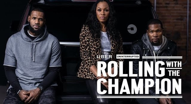 ROLLING WITH THE CHAMPION l Kevin Durant x LeBron James x Cari Champion