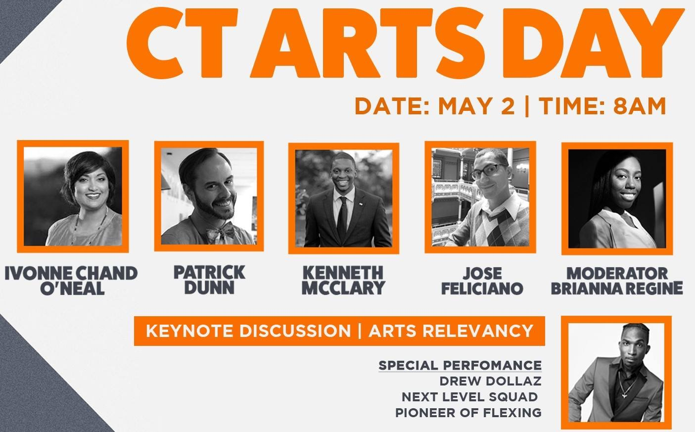 CT Arts Day May 2nd