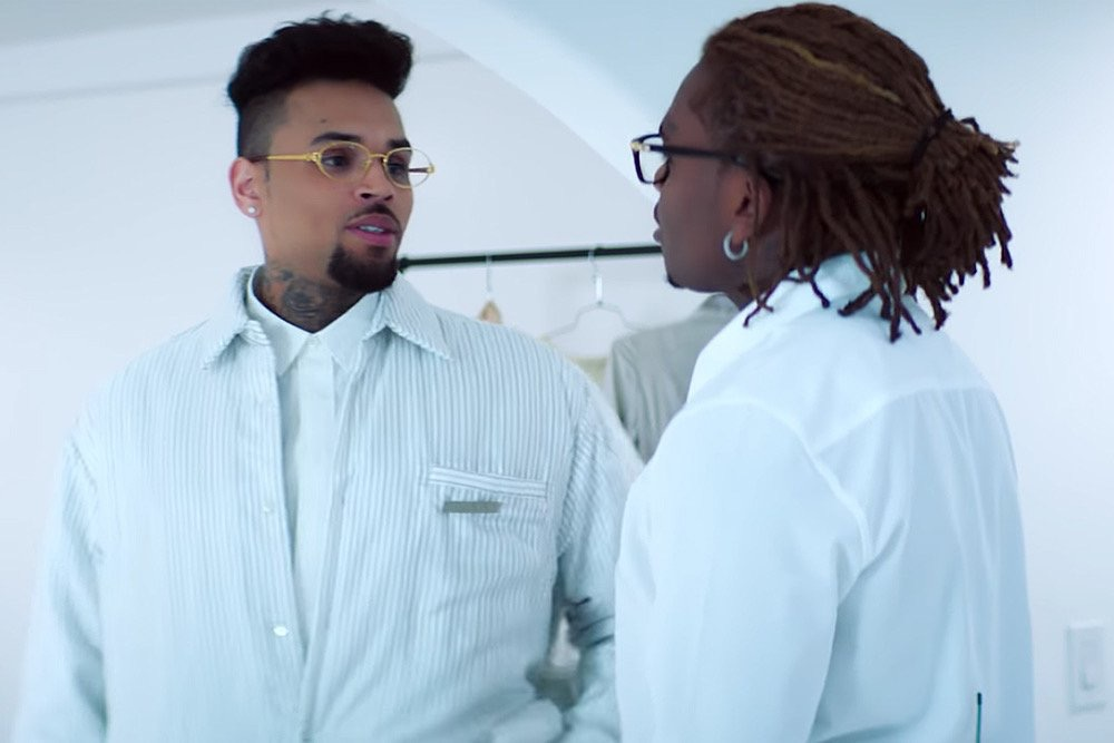 Chris Brown – Heat ft. Gunna (Music Video)