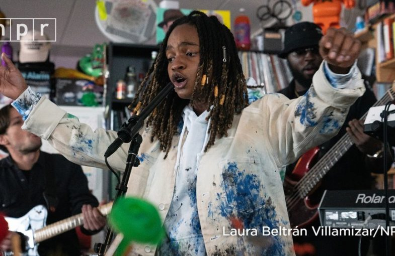 KOFFEE NPR'S TINY DESK CONCERT