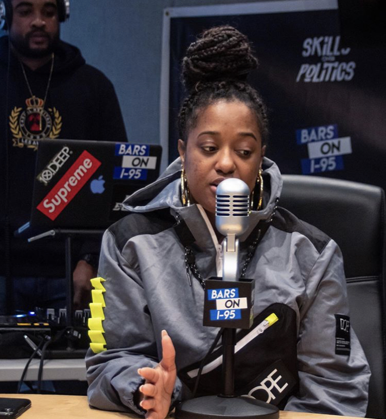 Rapsody Bars on I-95 For The Culture Interview
