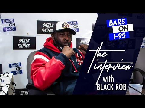 Black Rob Bars On I-95 Interview