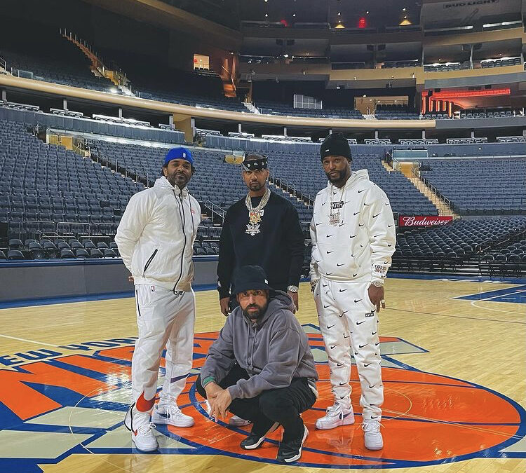 THE DIPLOMATS KITH NEW YORK KNICKS COLLAB FREESTYLE